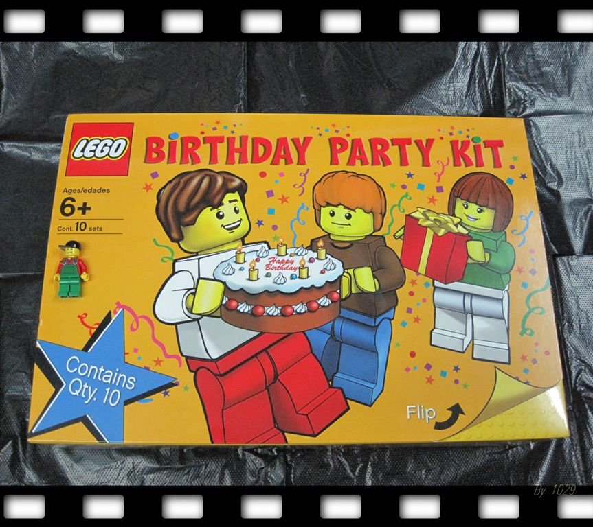 about the new LEGO Birthday Party kit that now is available online.