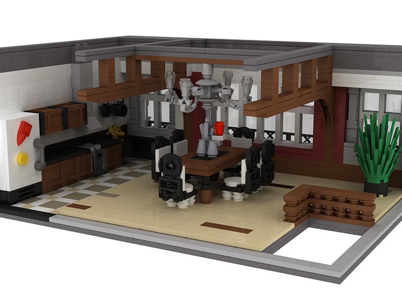 Lego Moc 0696 Apple Store Modular Buildings 2013 Rebrickable