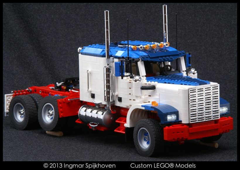 Us Truck T2 Mkii With Instructions Us Truck T2 Revised Lego