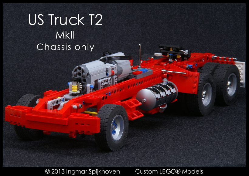 Frame Only Instructions Us Truck T2 Mkii Lego Technic