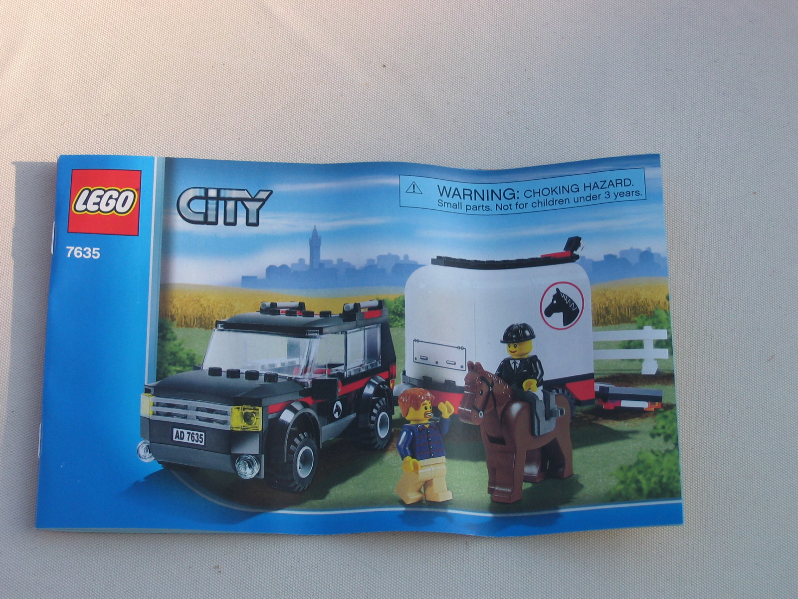Review 7635 4wd And Horse Trailer Lego Town Eurobricks Forums