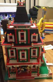 2012 Christmas MOCs House