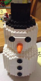 2012 Christmas MOCs Snowman