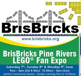 BrisBricks LEGO® Fan Expo - Strathpine Bb_front