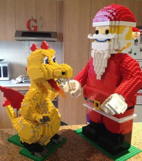 Visit from Santa Santa
