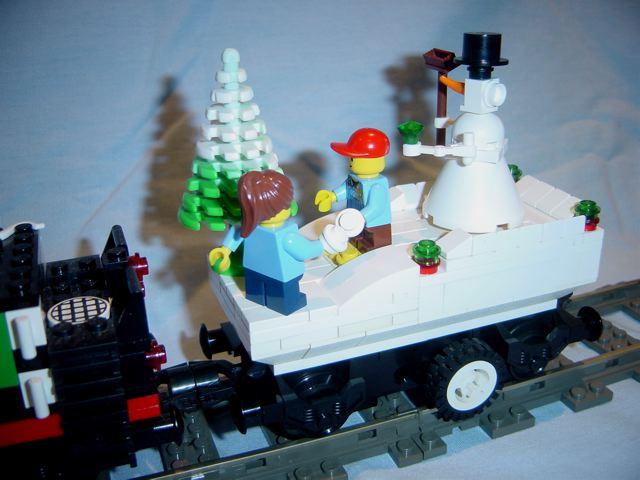 My Christmas Train! Snowman