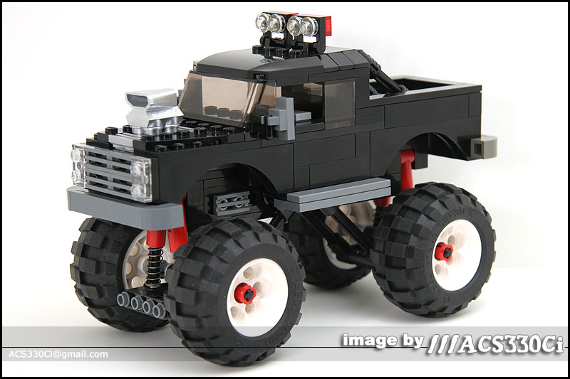 Monster Truck A Lego 174 Creation By Steve Beatty Mocpages Com