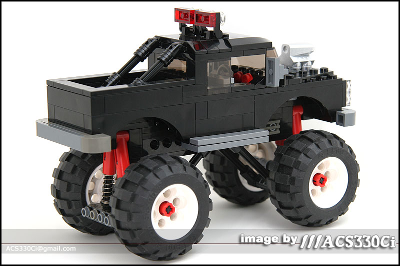 Monster Truck A Lego Creation By Steve Beatty Mocpages