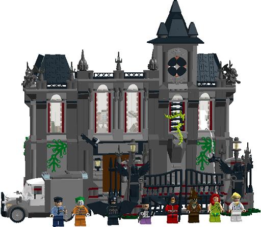 Lego Batman Arkham Decals