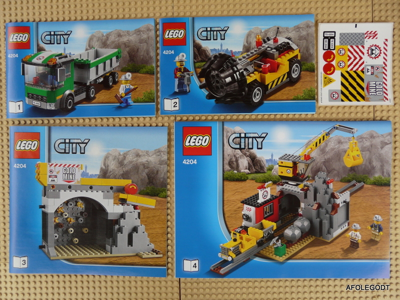 Review 4204 The Mine 2012 Lego Town Eurobricks Forums