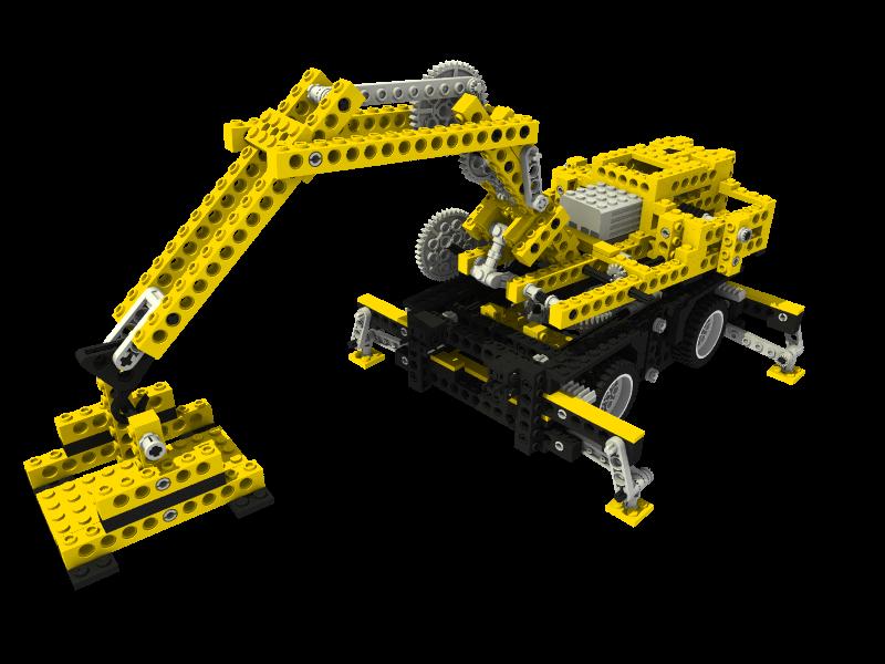 8094 Mobile Crane.