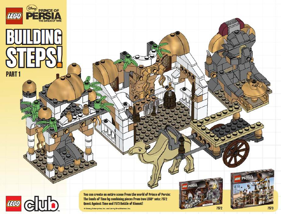 Prince Of Persia 2010 Page 31 Lego Licensed Eurobricks Forums