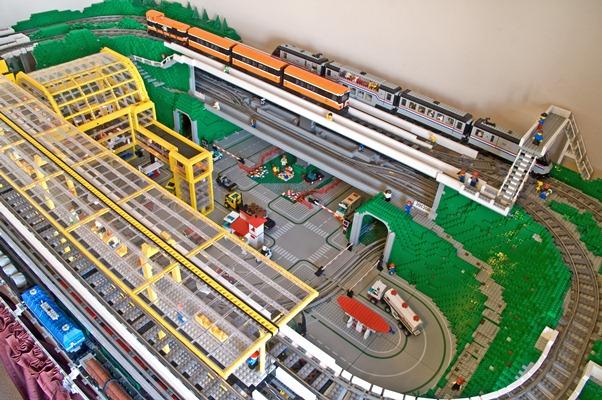 Birth Of A New Layout LEGO Train Tech Eurobricks Forums