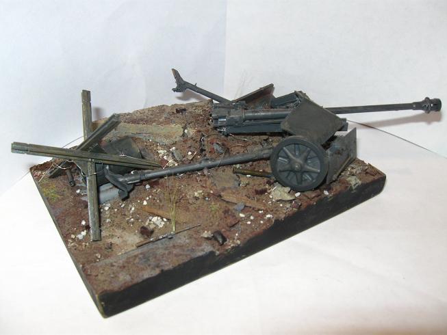 New diorama- Somewhere in Europe, 1945 081130123448