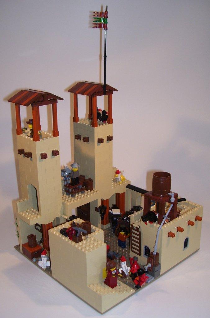 Wild West Sets - LEGO 6769 Fort Legoredo Vintage 1996 Wild ... |Lego Wild West Fort
