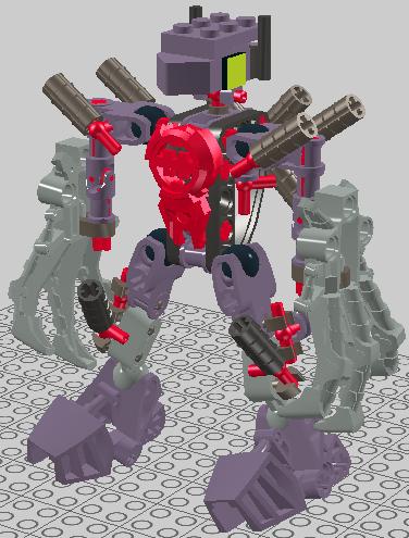 hero factory designer ! Purple1