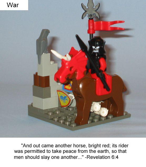 The Four Horsemen of the Apocolypse!