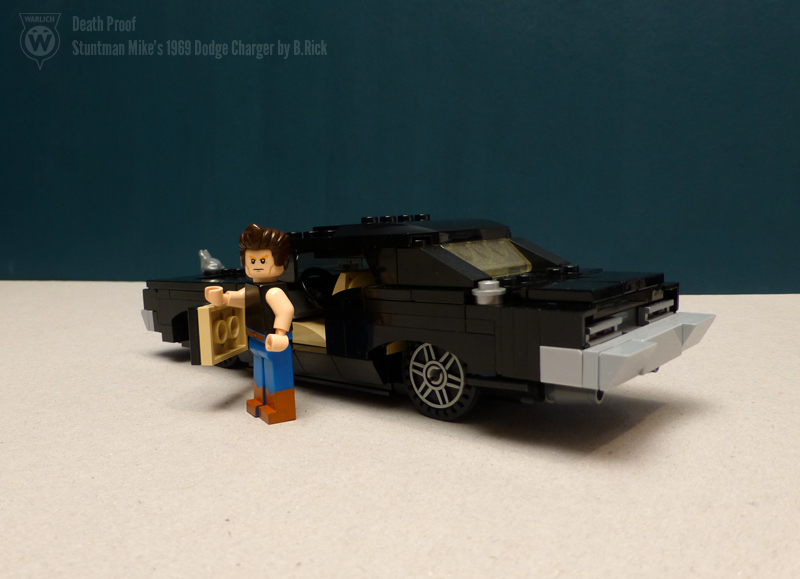 Moc 1969 Dodge Charger Death Proof Special Lego