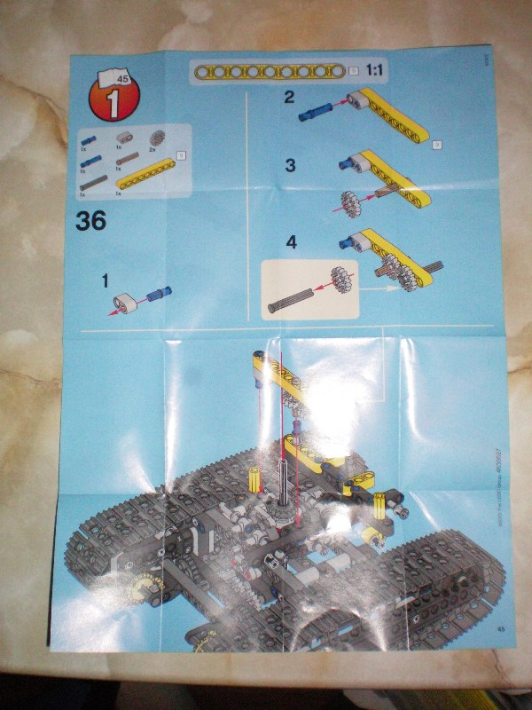lego 8043 b model instructions