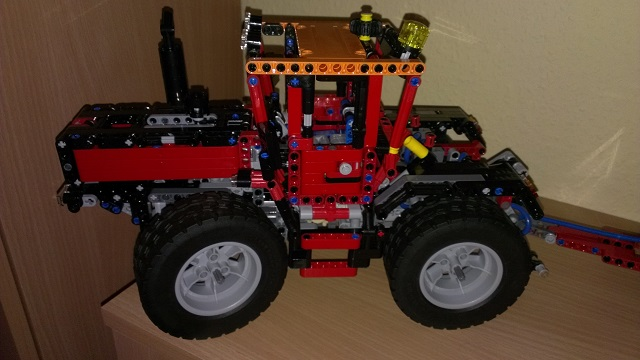 mb trac german tractor lego technic and model team. Black Bedroom Furniture Sets. Home Design Ideas
