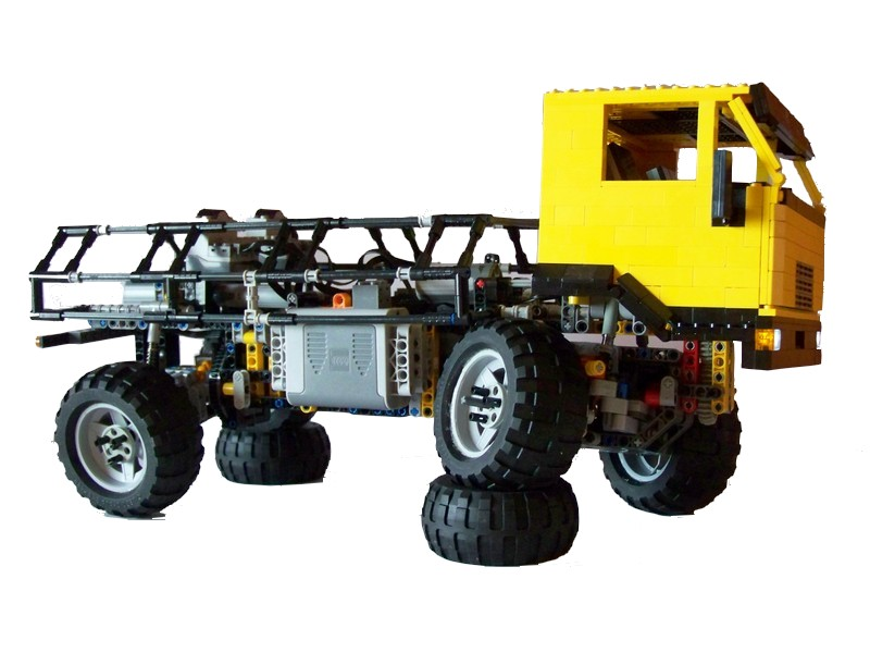 ni4nn 39 s lego technic man trial truck lego technic. Black Bedroom Furniture Sets. Home Design Ideas