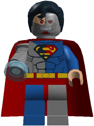 Lego Cyborg Superman Set