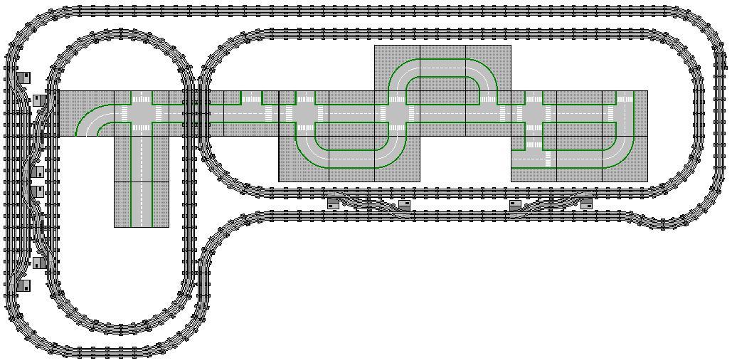 Legotrein forum legotrain forum onderwerp bekijken spoor layouts some tracklayouts - Ruimte lay outs ...
