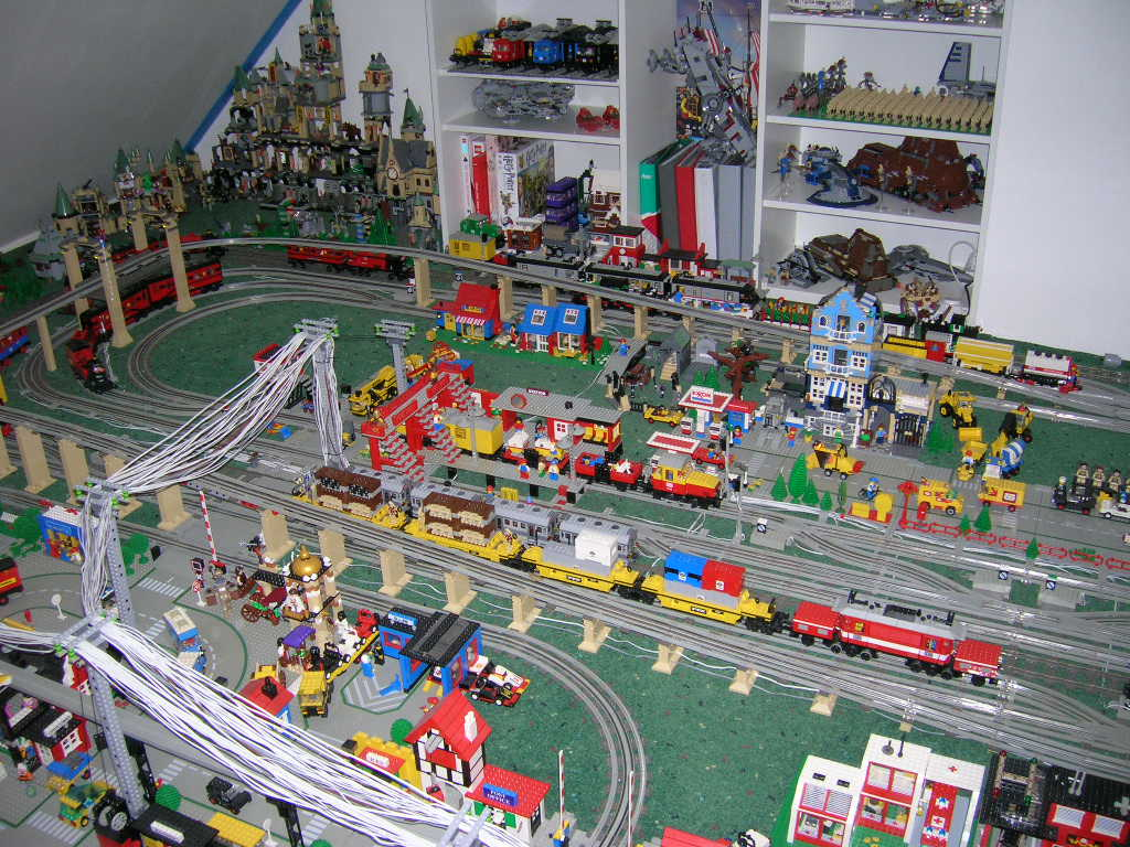 Idea For Multi Level Track Layout Lego Train Tech Eurobricks Forums