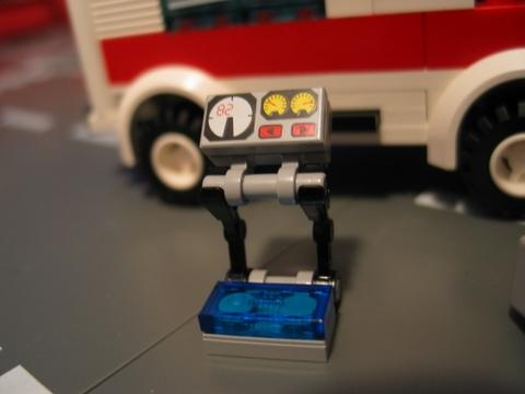 lego city ambulance 7890 instructions