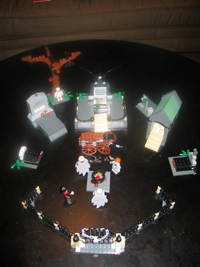 review 4766 harry potter graveyard duel lego licensed
