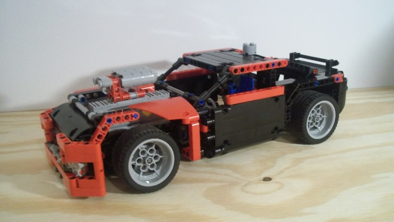 REVIEW] 42041 Race Car B model - LEGO Technic and Model Team