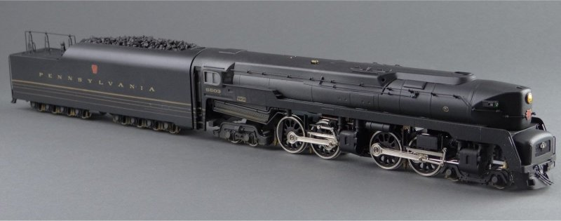 MoC] Pennsylvania Railroad T1 - LEGO Train Tech - Eurobricks