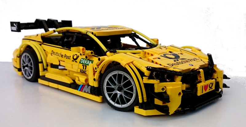 Moc Bmw M4 Dtm 1 10 Racecar With Pf Lego Technic And Model Team