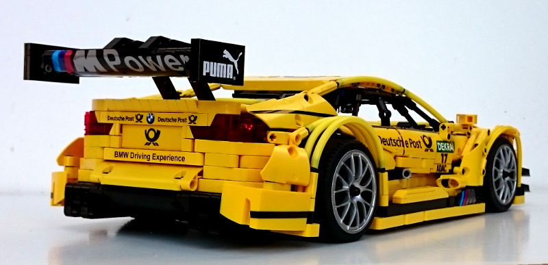 Moc Bmw M4 Dtm 1 10 Racecar With Pf Lego Technic