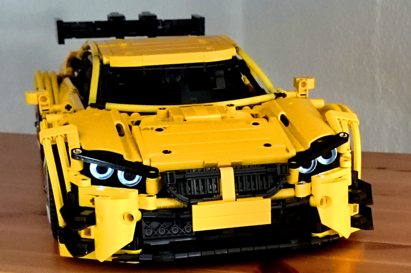 Moc Bmw M4 Dtm 1 10 Racecar With Pf Lego Technic Mindstorms Amp Model Team Eurobricks Forums