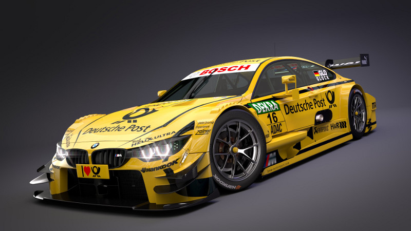 Moc Bmw M4 Dtm 110 Racecar With Pf Lego Technic And Model Team