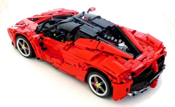 [MOC] LEGO Technic LaFerrari RC & PF