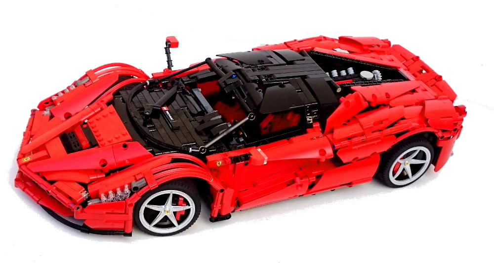 Different Ferrari Models >> [MOC] LaFerrari hypercar 1:9 - LEGO Technic, Mindstorms & Model Team - Eurobricks Forums