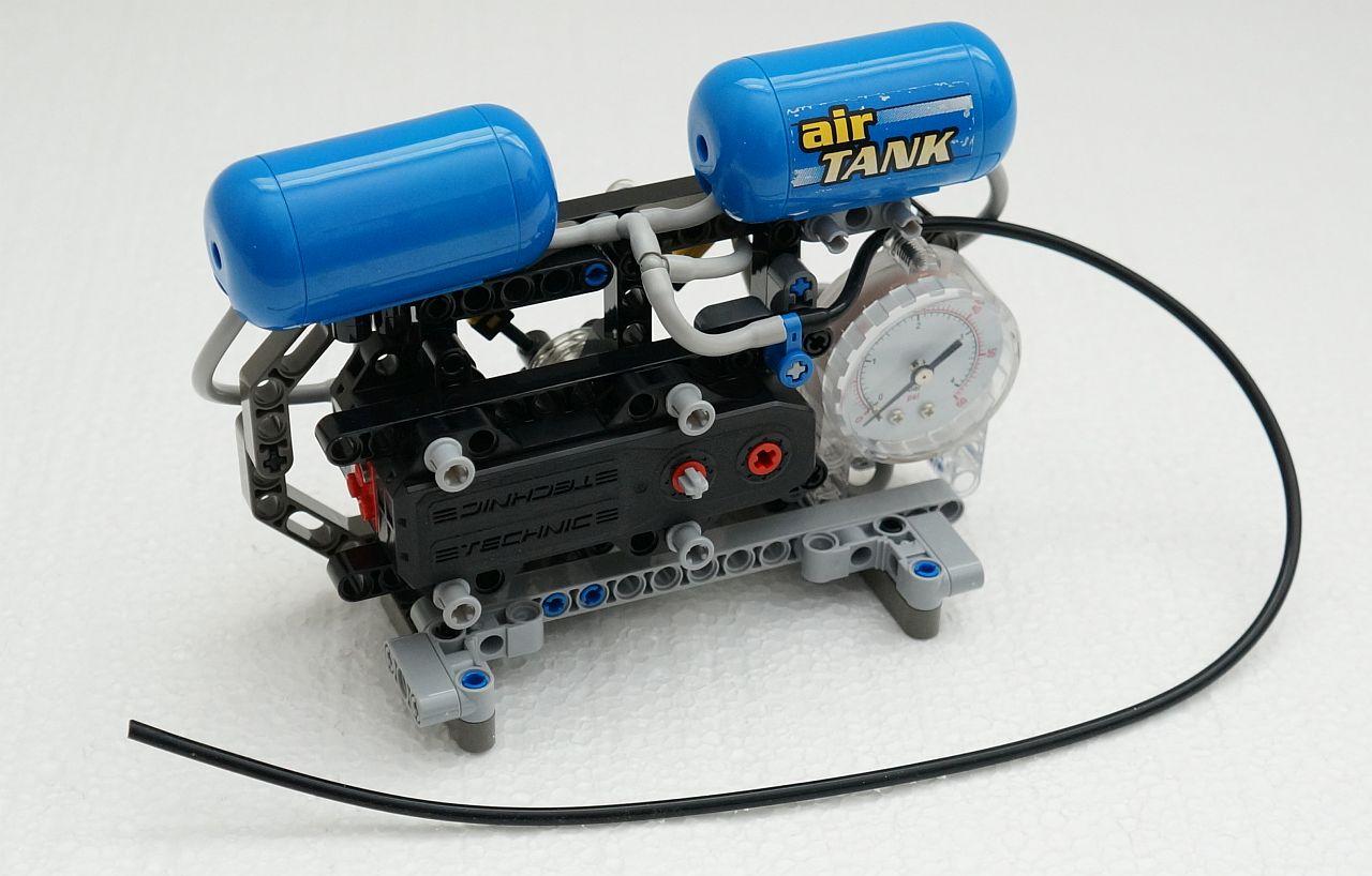Air Compressor Lego Technic Mindstorms Model Team