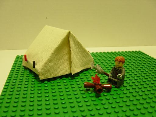 Tent index or library lego pirates eurobricks forums for Build your own canvas tent