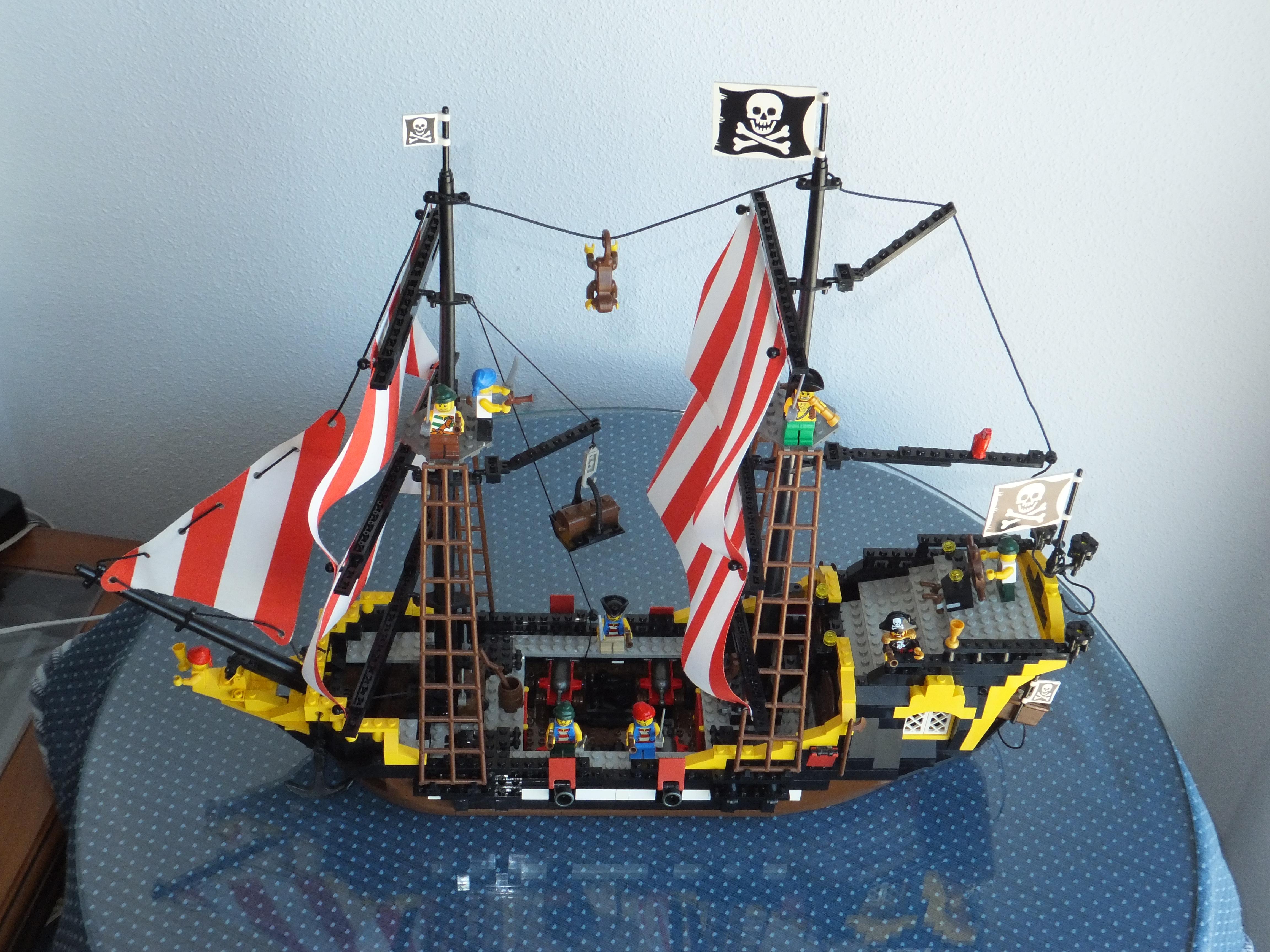 playmobil naval schooner