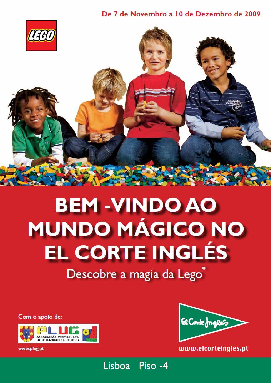 Bem-vindo ao mundo mágico no El Corte Inglés