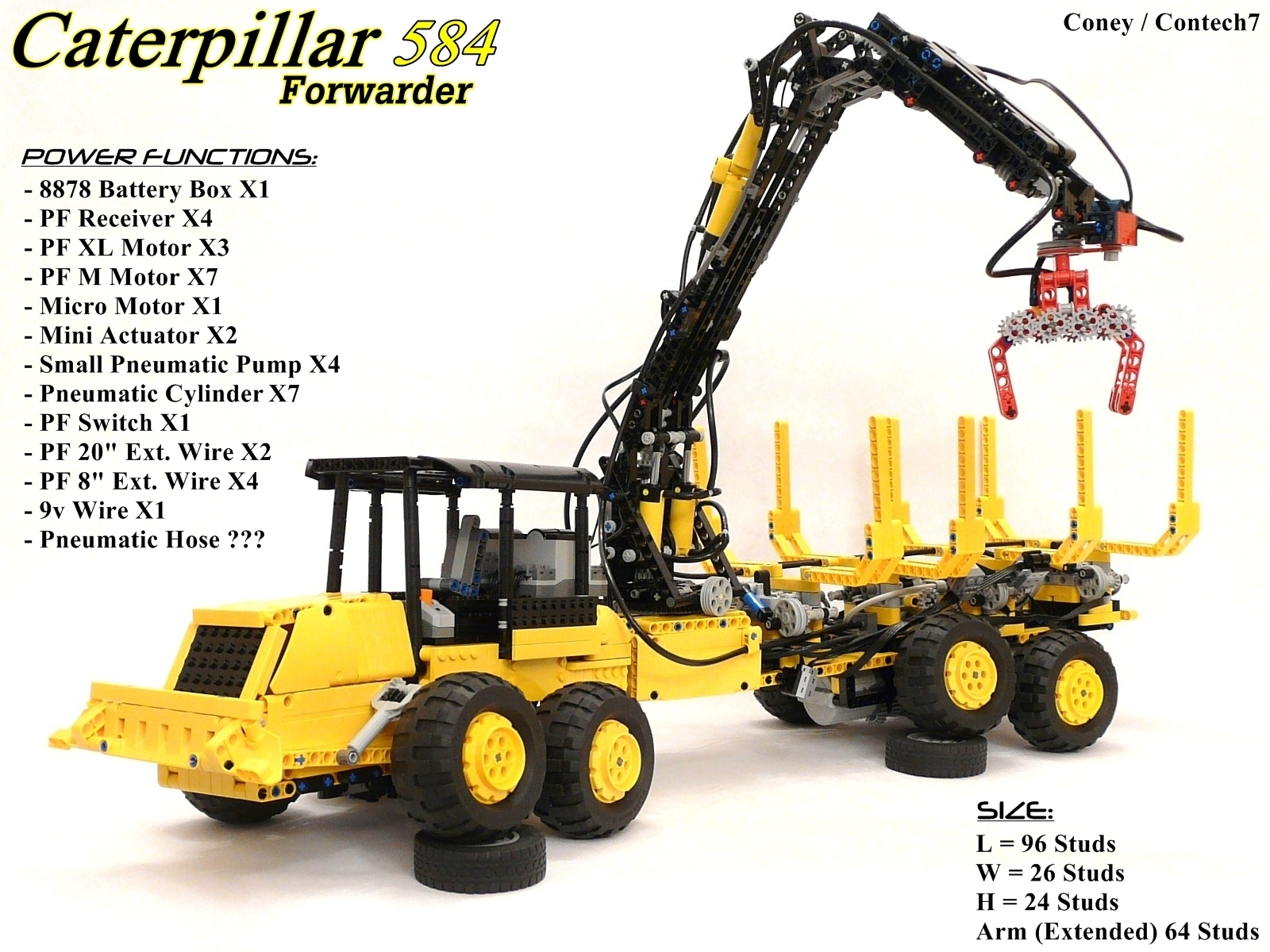 Week TechVideo, 2011 #05 - Caterpillar 584 Forwarder