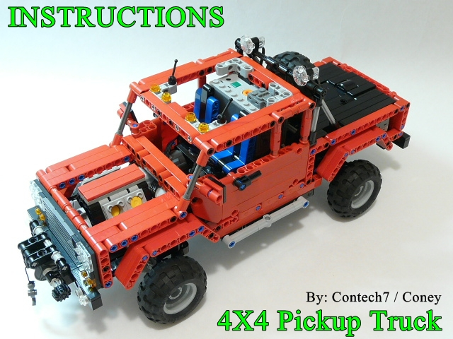 Lego Truck Trial Instructions