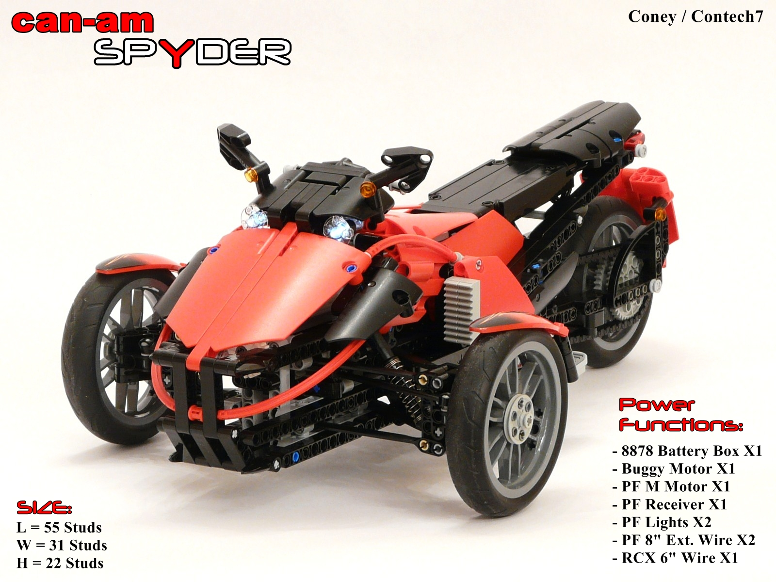 Bombardier Recreational Products >> TechnicBRICKs: Week TechVideo, 2011 #01 - Can-Am brand