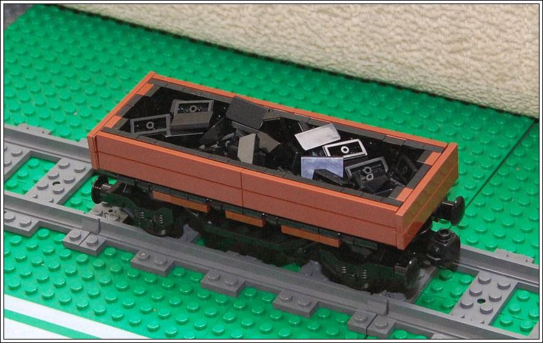 Как сделать вагон из лего 836