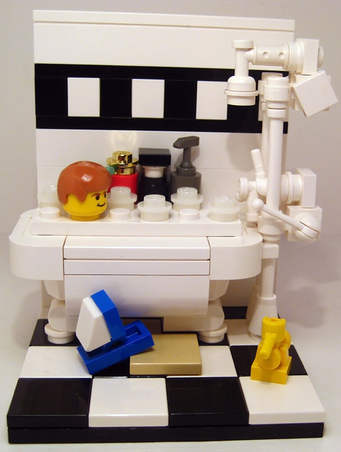 Lego bathroom