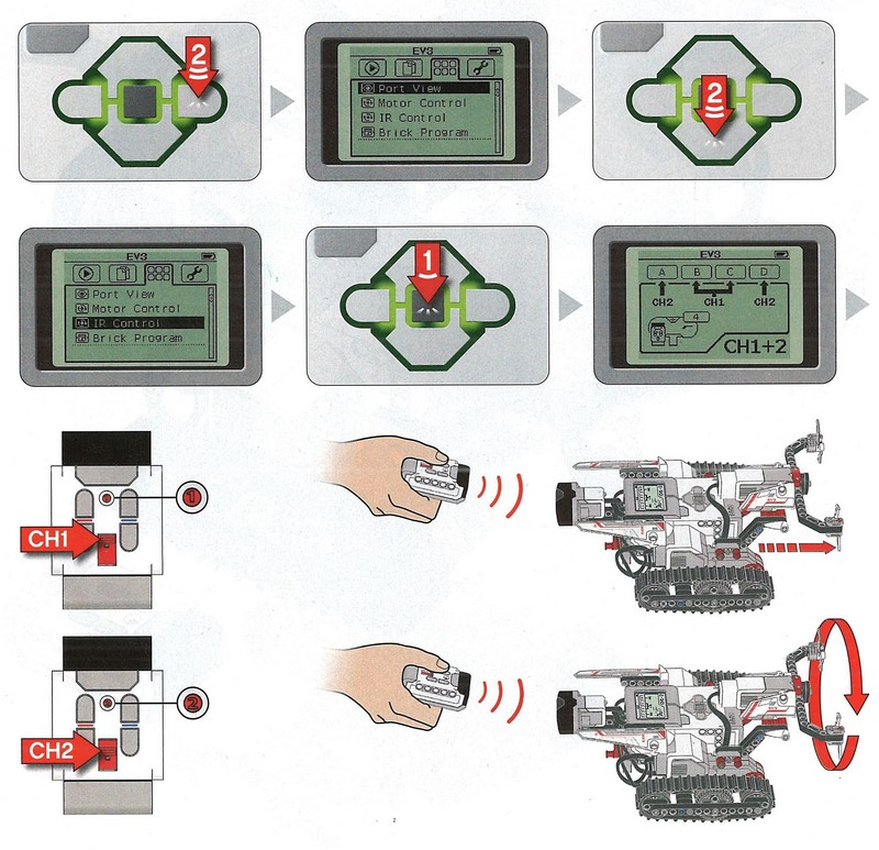 ev3 remote control instructions