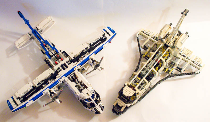 REVIEW] 42025 Cargo Plane - LEGO Technic, Mindstorms & Model Team ...