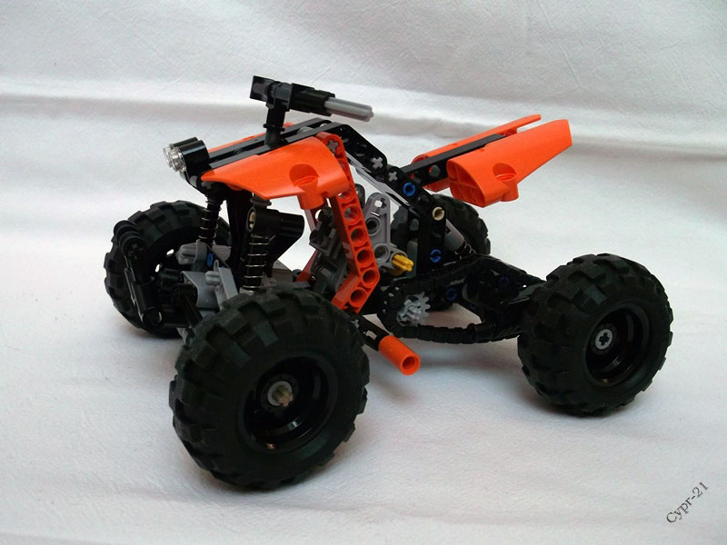 lego technic motorcycles 9392 quad bike review by cypr 21. Black Bedroom Furniture Sets. Home Design Ideas